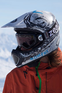 A new study shows 2004-10 saw a rise in skiing- and snowboarding-related head injuries in the U.S., despite the fact that more people started riding with helmets during same period.