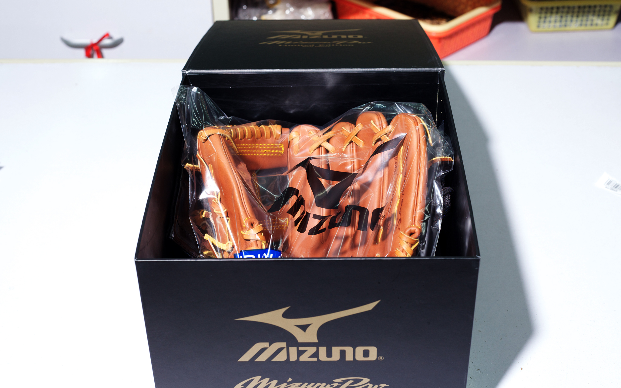 Mizuno Baseball Glove Factory