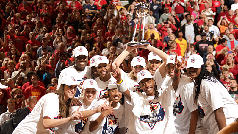 The Indiana Fever celebrated the franchise's first championship a year ago after taking out the defending champion Minnesota Lynx.