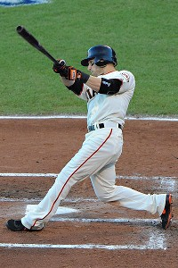 Scutaro has helped make up for Melky Cabrera's absence.