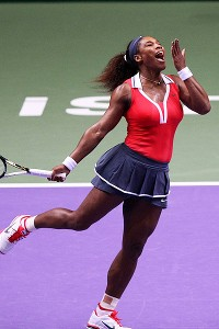 Serena Williams looks to begin 2013 just like she ended 2012: dominating.