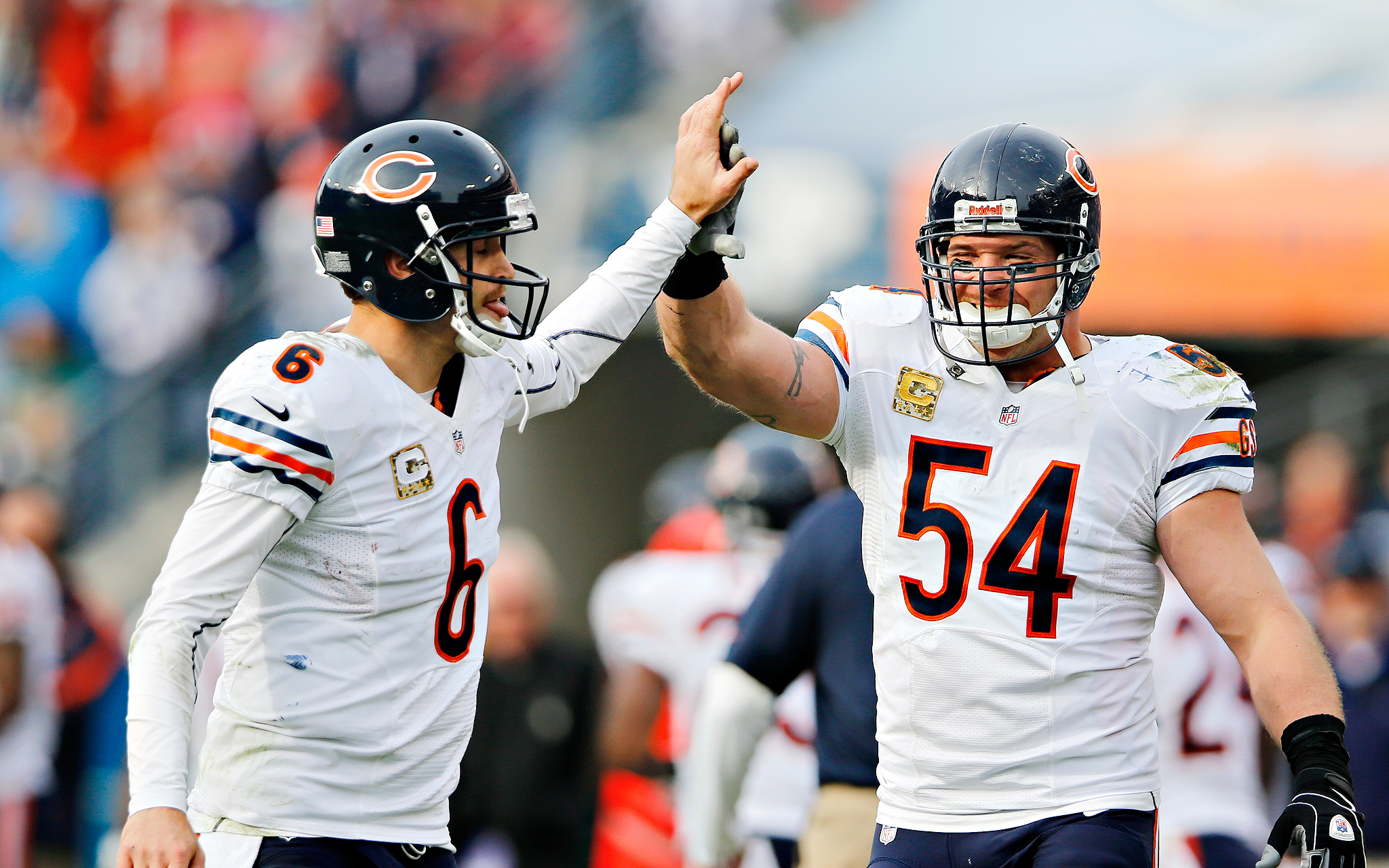 Cutler and Urlacher