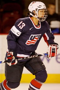 Julie Chu and the U.S. team are hoping to beat Canada at this year's Four Nations. Canada beat the U.S. in overtime at worlds in April.