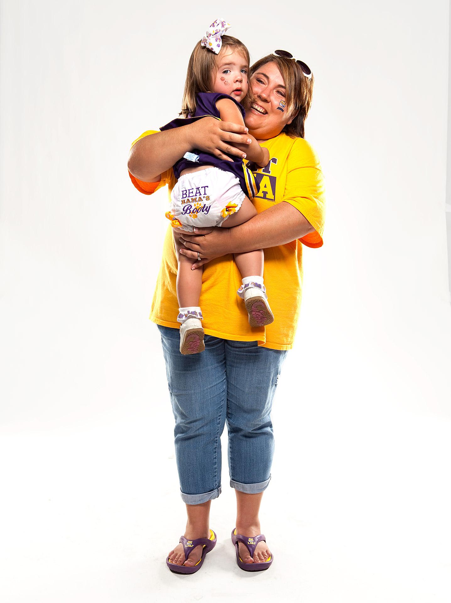 Jodie Richardson & 2-year-old Riley Richardson