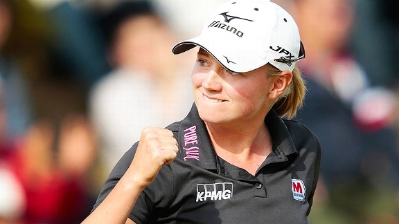 Stacy Lewis has won four tournaments this year, most recently the Mizuno Classic on Nov. 4.