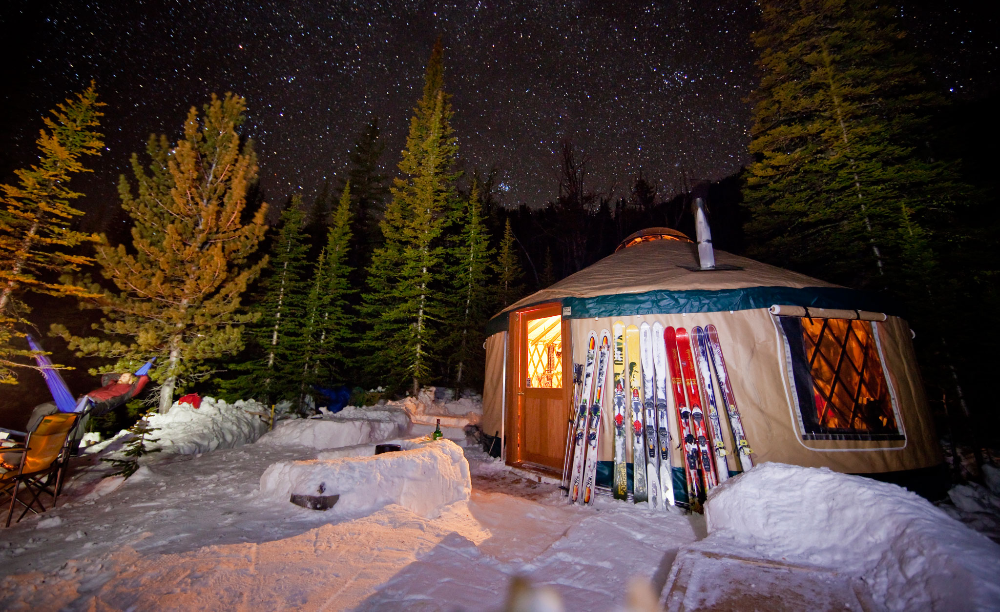 Bell Lake Yurt, Montana
