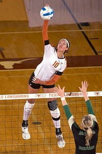The Texas Longhorns have home-court advantage in the regional and powerful hitter Haley Eckerman on their side.