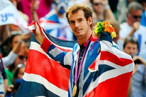 Less than one month after losing in the Wimbledon final in 2012, Murray returned to Centre Court and won Olympic gold.