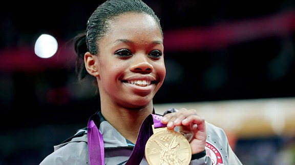Once Gabby Douglas made the Olympics team, the pressure was off.