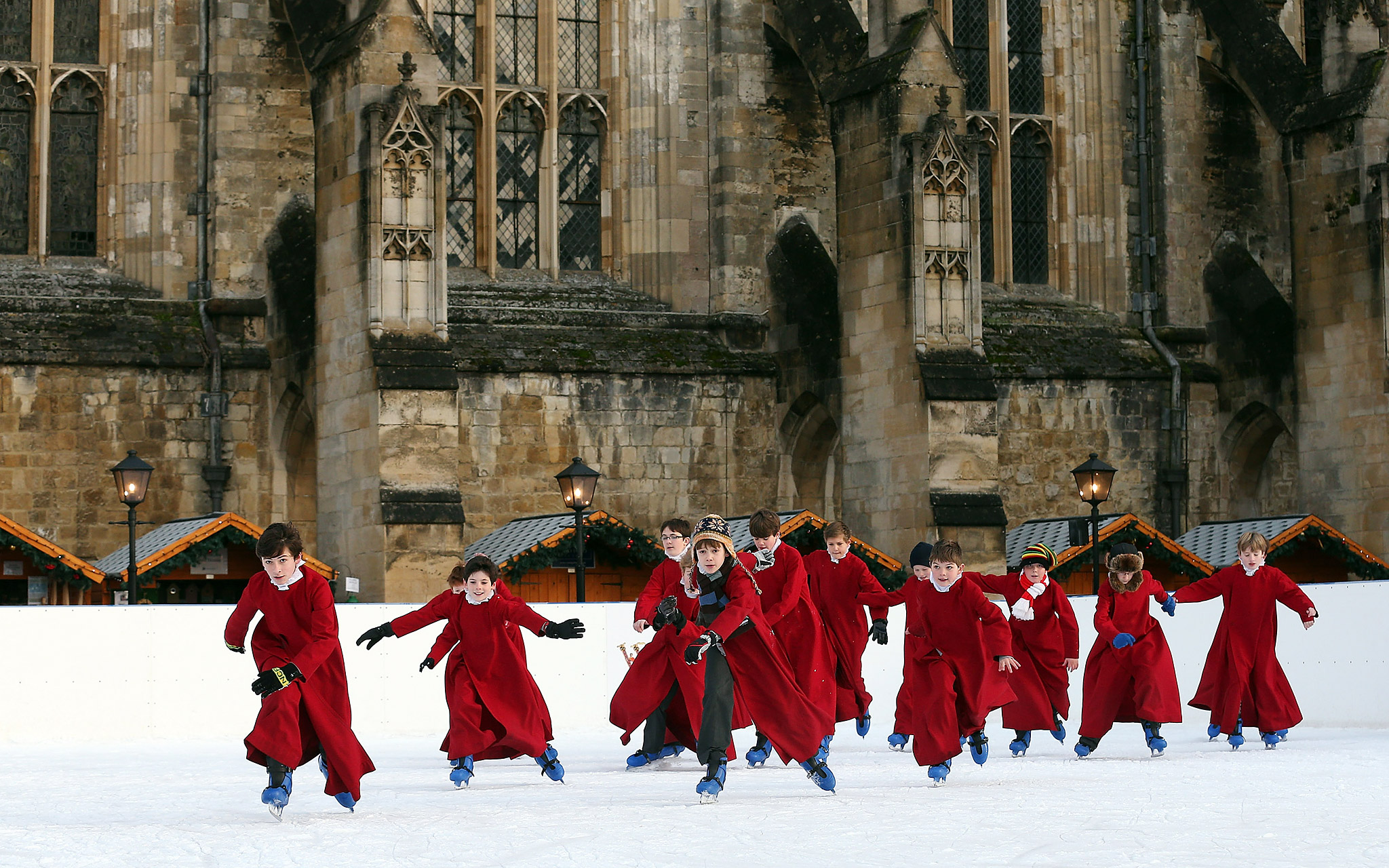 Choristers from Winchester Cathedral