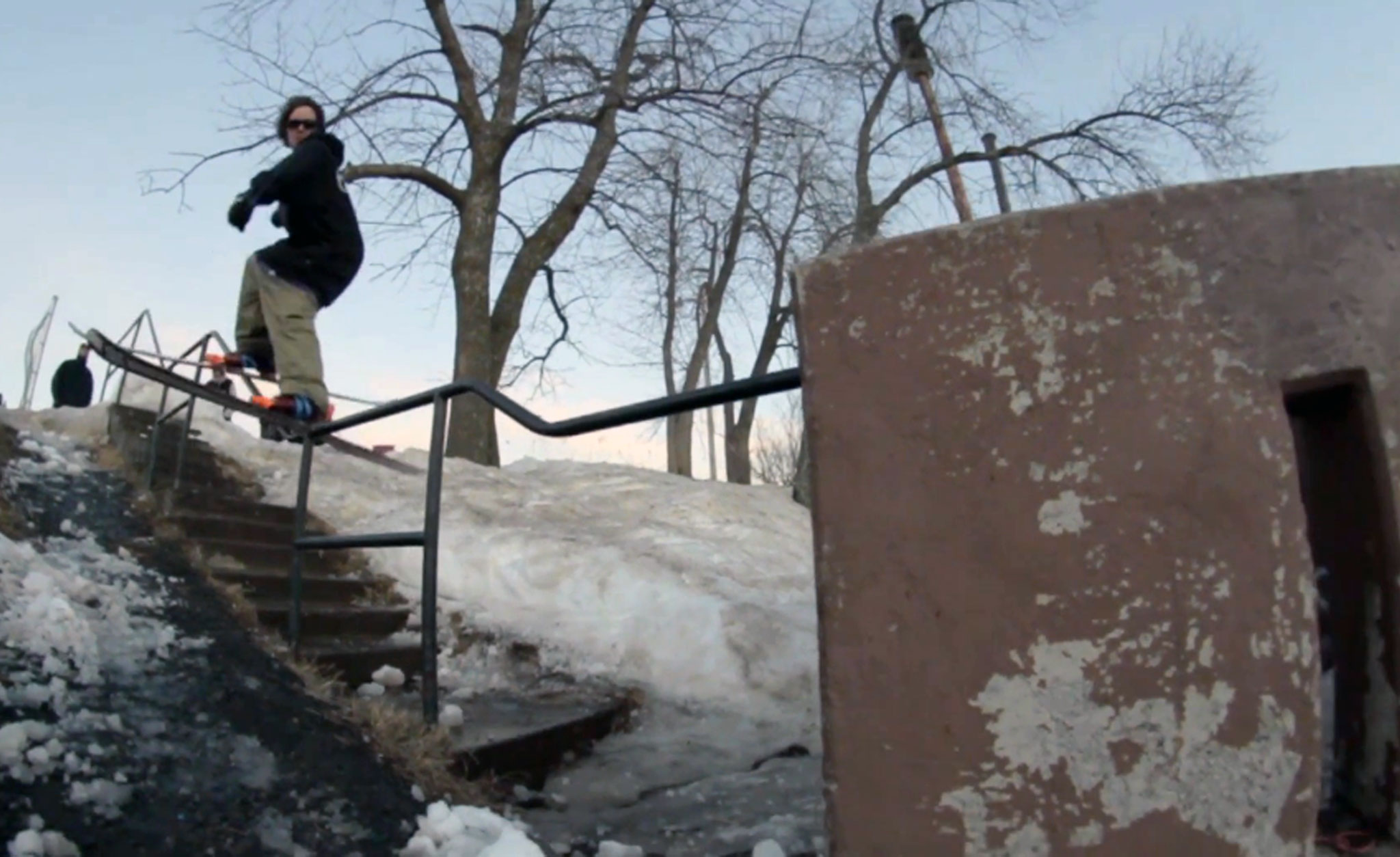 Clayton Vila filming for footage that appears in his self-edit, 'The Creep.'