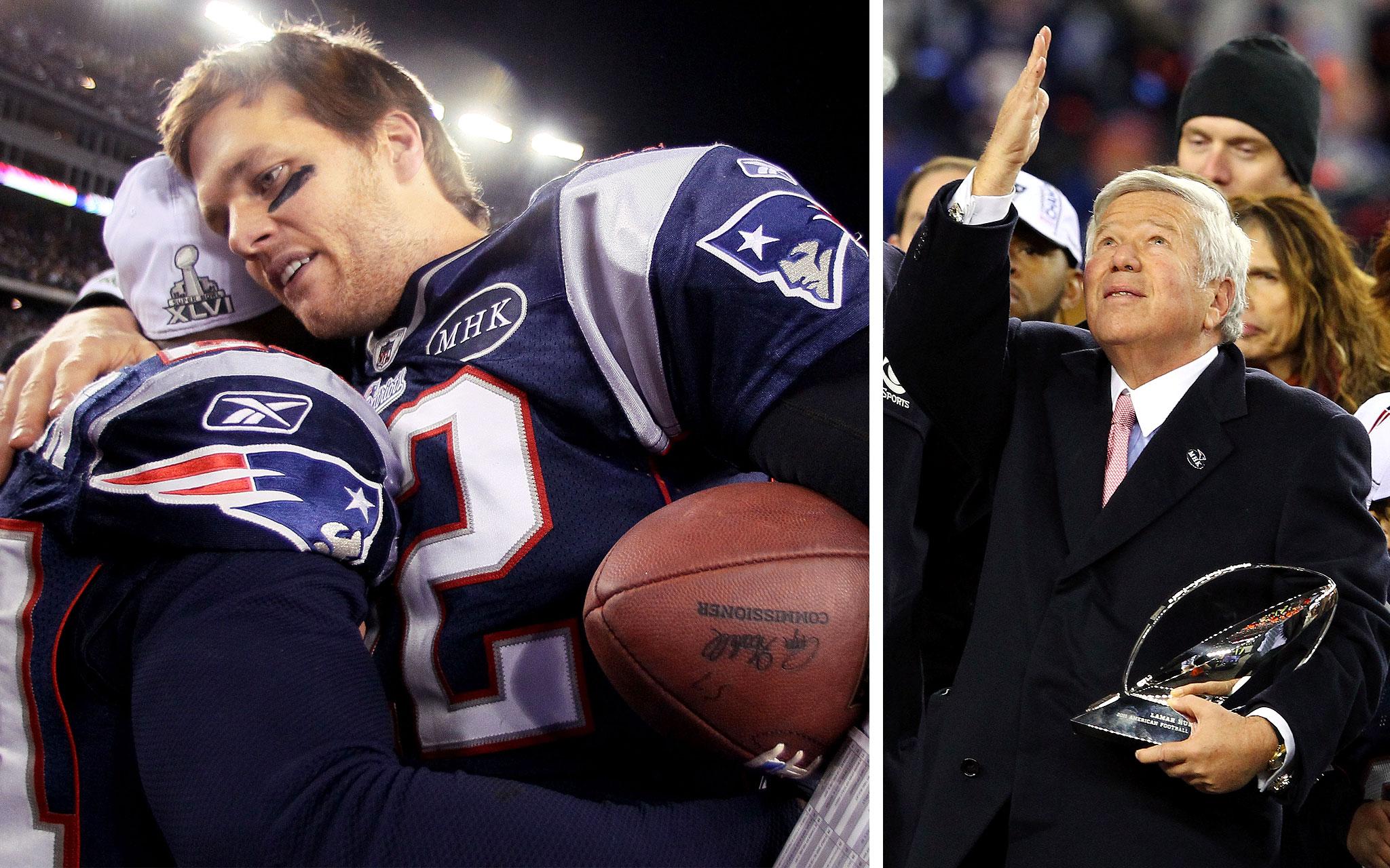 1. Patriots Head To Super Bowl
