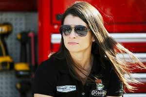 Don't expect big things from Danica Patrick in her first full season in the Sprint Cup Series.