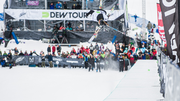 Maddie Bowman, en route to her second-place finish at the 2012 Dew Tour Mountain.