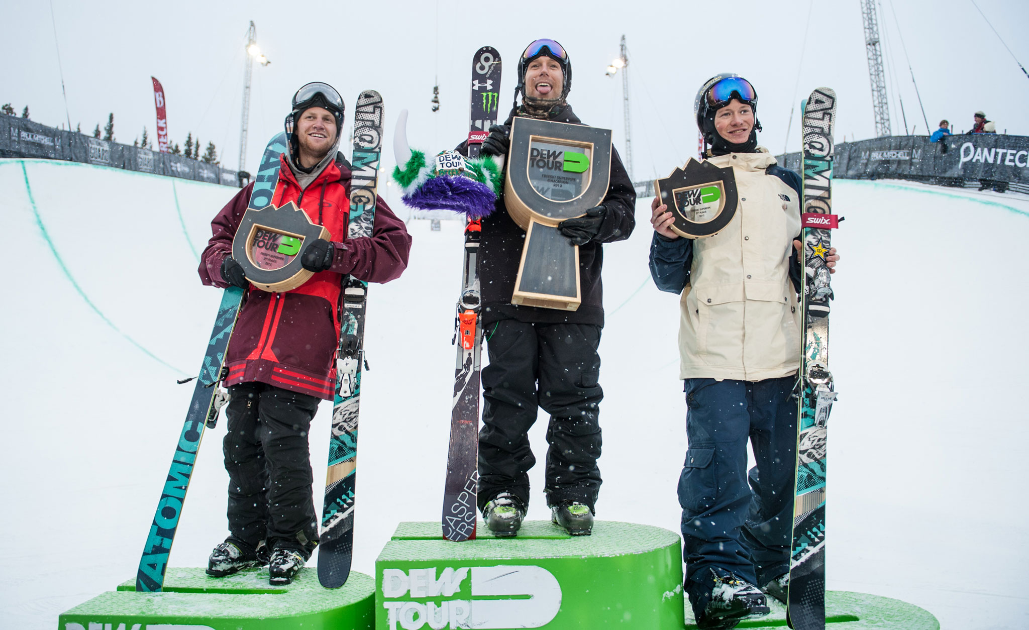 Men's Pipe Podium