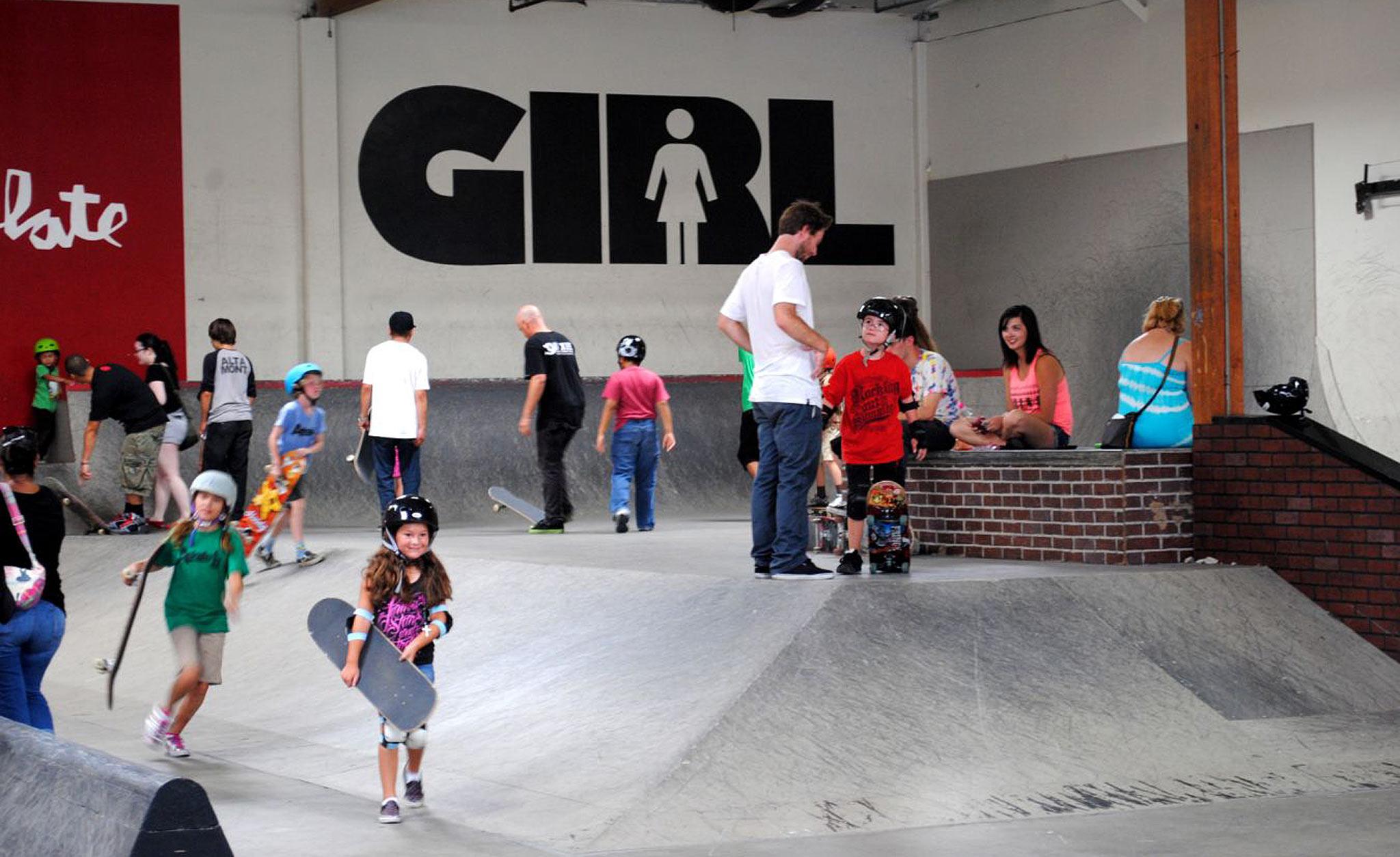 A.skate at Girl