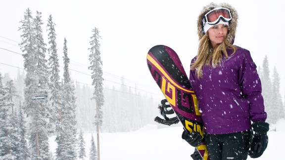 New X Games host Ramona Bruland is definitely ready to take on the elements in Aspen and Tignes.
