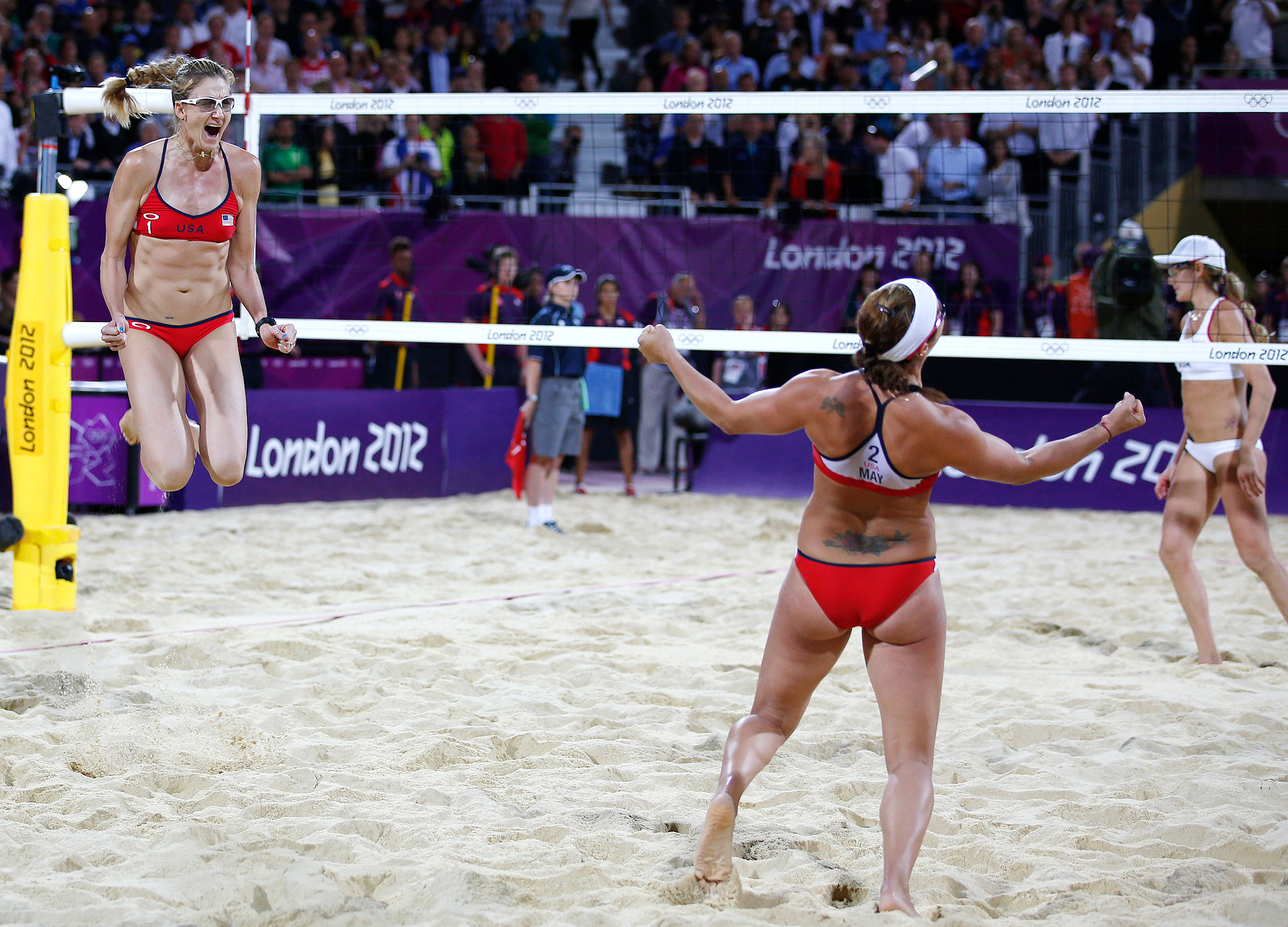 Misty May-Treanor and Kerri Walsh Jennings