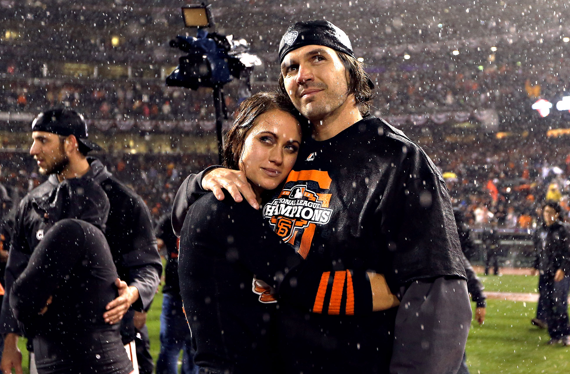 Barry and Amber Zito