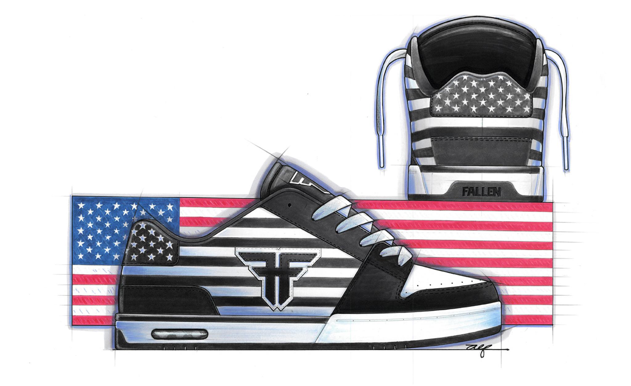 Liberty, Fallen Footwear