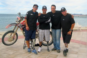 Jim Wazny, Chris Ridway, Paul Thomas, Mario Panagiotopoulos