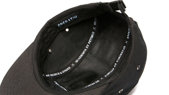Attention to detail on the interior of Operativ's new five-panel.