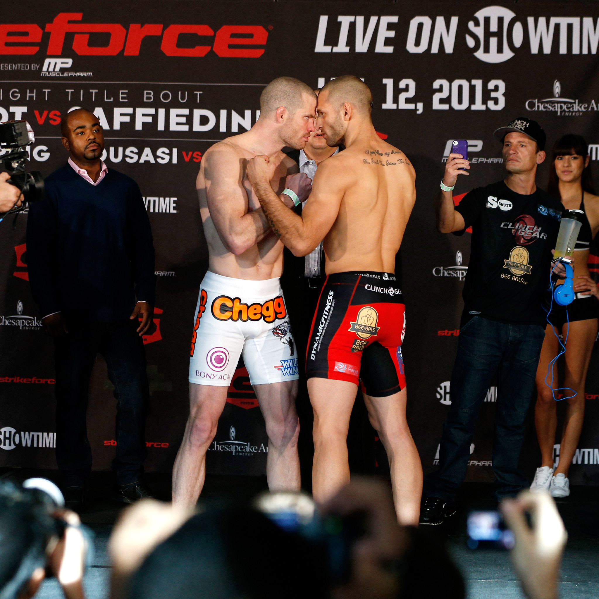 Nate Marquardt and Tarec Saffiedine weigh in