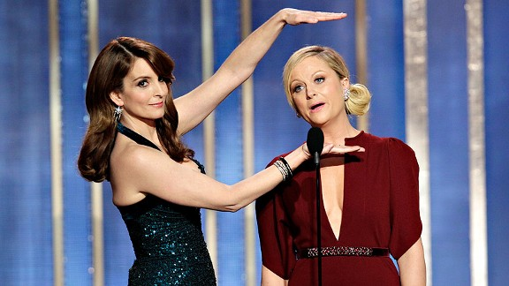 Tiny Fey and Amy Poehler = Award show host heaven.