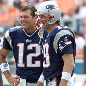 Damon Huard backed up Tom Brady in 2001.