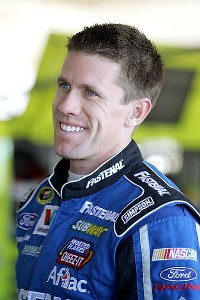 Carl Edwards somehow kept smiling through an awful 2012.