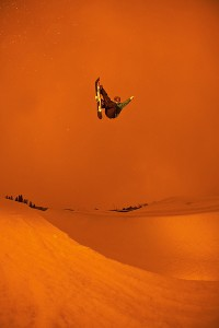 Sometimes, snowboarding feels like this.br/ Kevin Pearce, 2009.