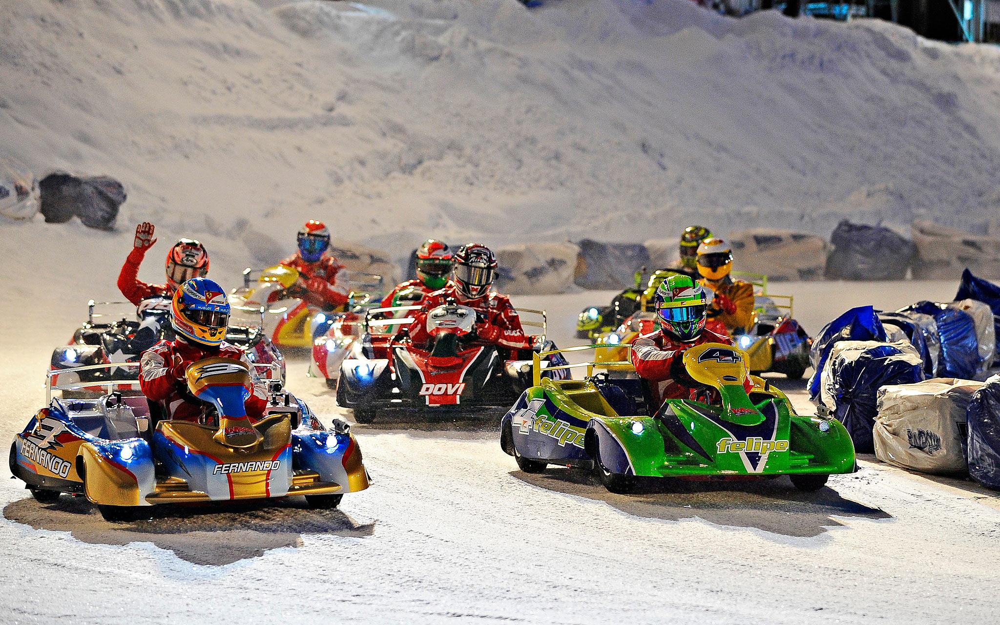 F1 and MotoGP Press Ski Meeting
