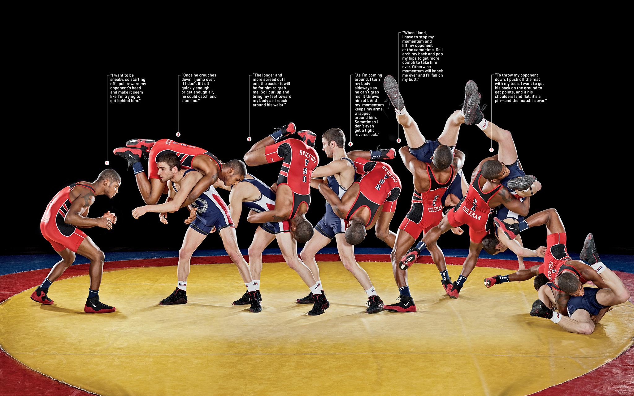 Ellis Coleman, U.S. Olympic Wrestler