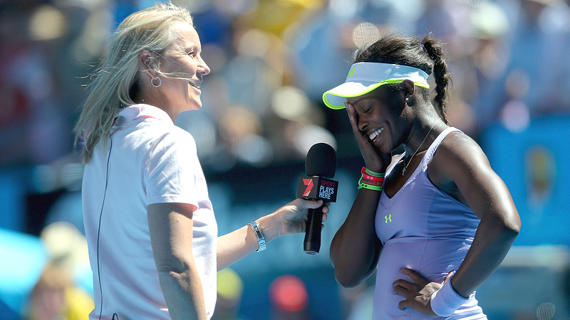 In January, Sloane Stephens stunned the tennis world with a quarterfinal victory over Serena Williams at the Australian Open. Despite losing in the next round, Stephens instantly became Americas new it girl in the sport with an appearance on Ellen and a surge in popularity. Then she bashed Serena in an interview with ESPN The Magazine and instantly lost some of her new fans. Saying the legend unfollowed her and deleted her off Blackberry Messenger after their match in Melbourne, Stephens simultaneously claimed the two never had a friendship to begin with. The backlash was swift, and Stephens, of course, issued an apology for her comments. (Photo: Julian Finney/Getty Images)
