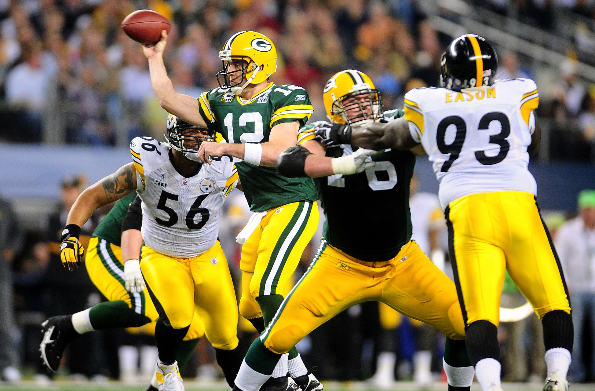 Aaron Rodgers - Super Bowl XLV (24/39, 304 yards, 3 TDs)