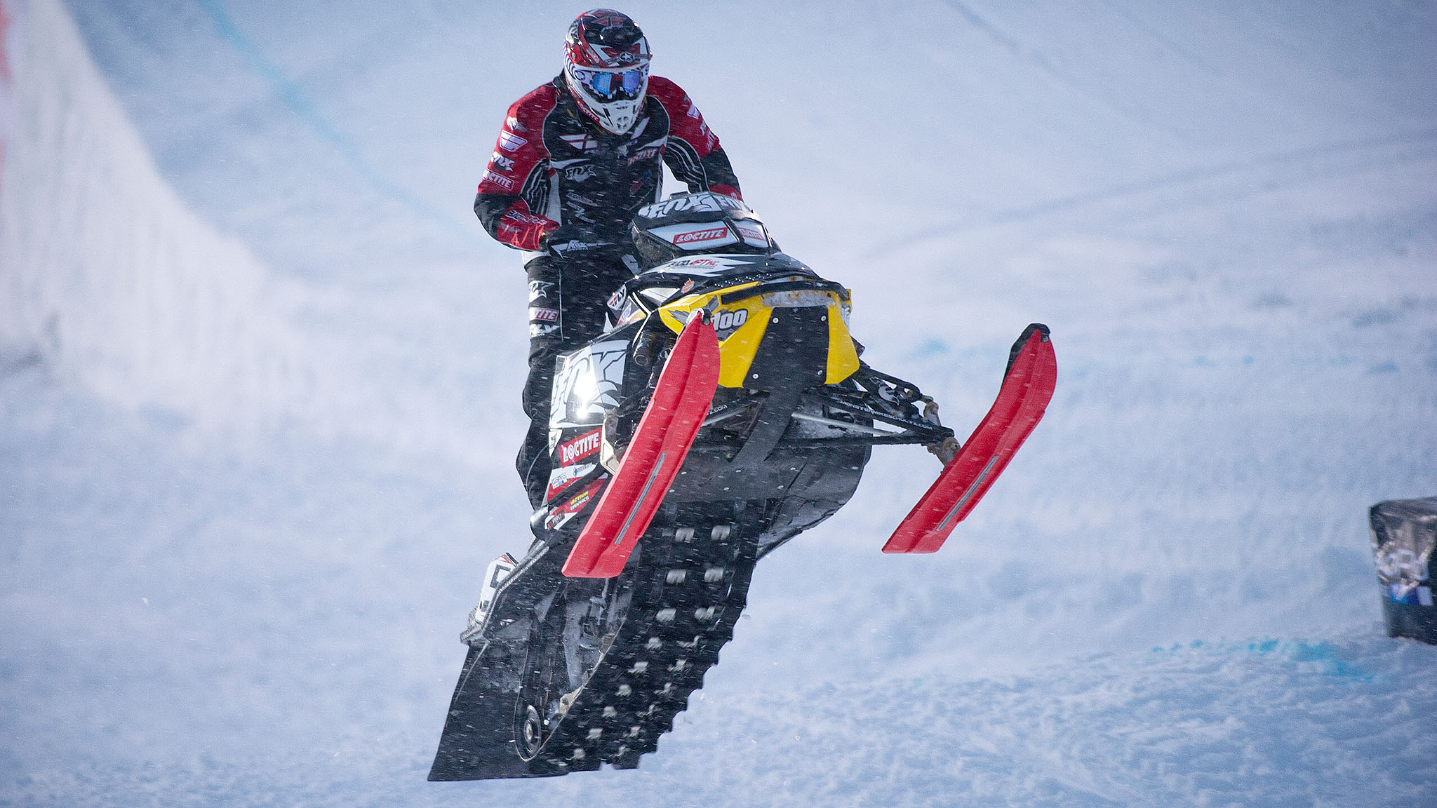 Mike Schultz didn't just return to snowmobiling. No, he excelled at it even after losing a leg.