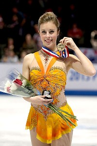 Despite an imperfect day, Ashley Wagner was able to win a second U.S. national title and became the first skater since 2005 to defend her crown.