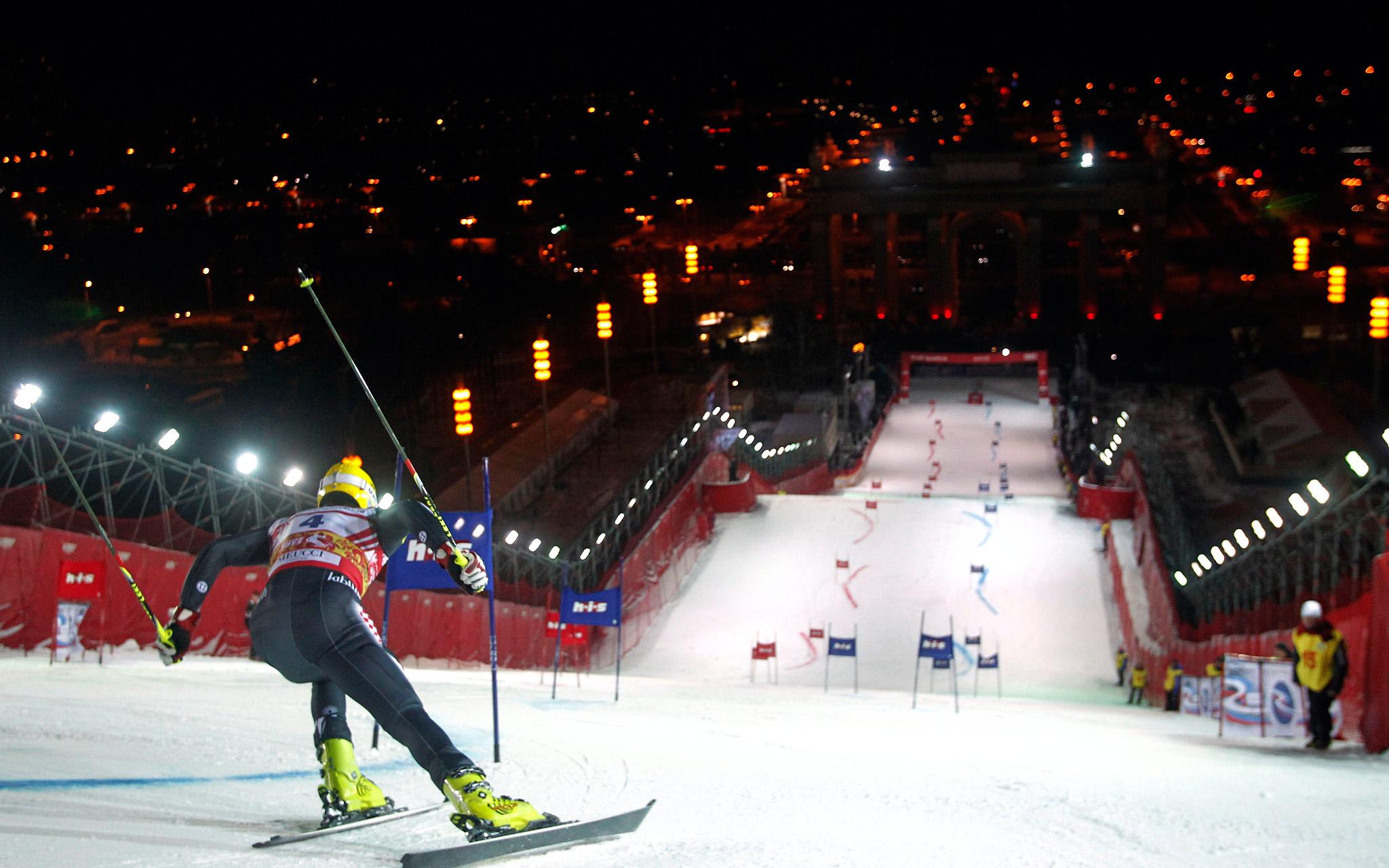 On your mark, get set, ski!