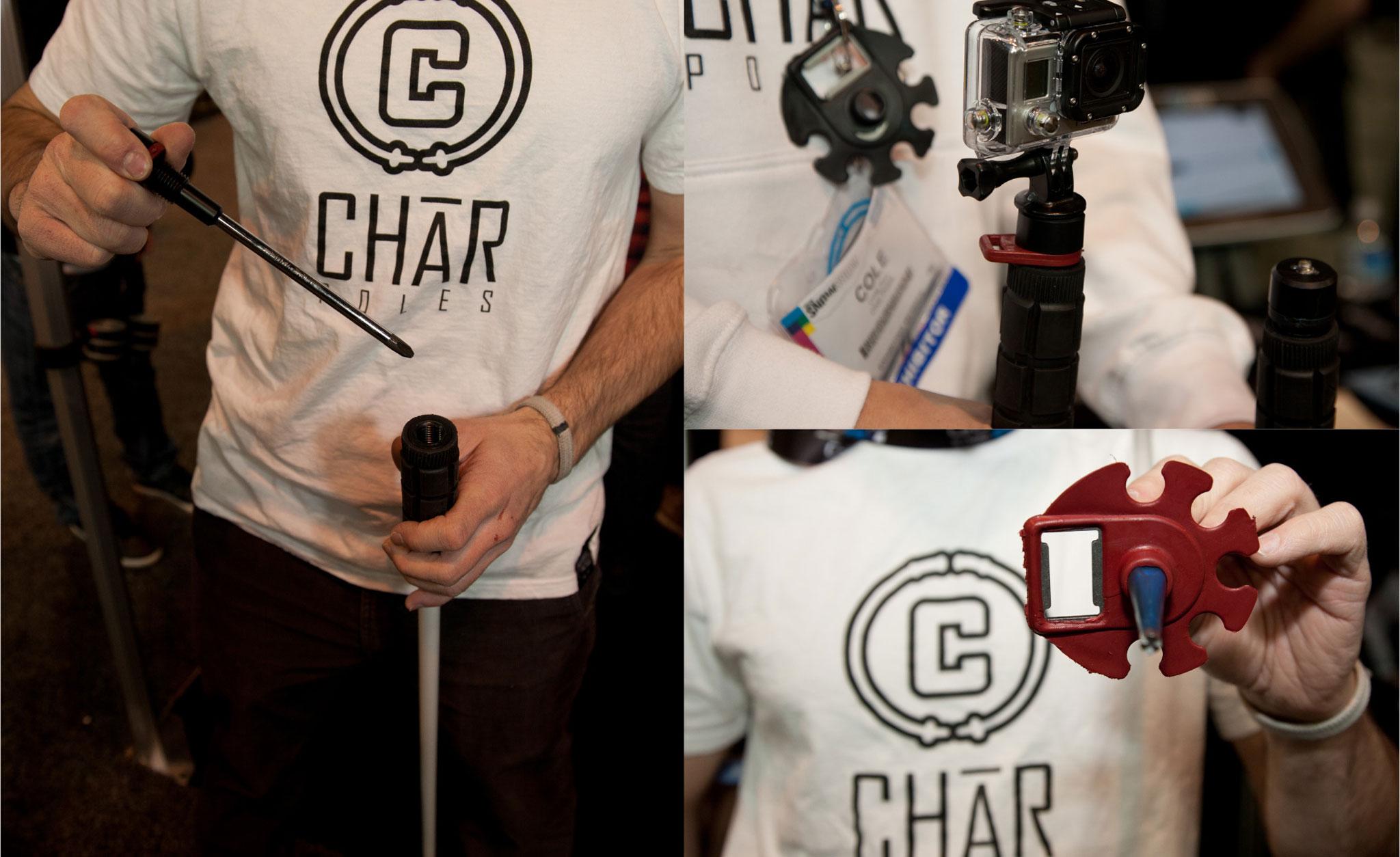Char Poles Tool Box Pole
