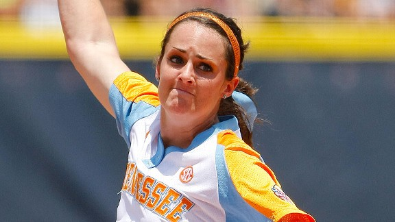 Ellen Renfroe helped Tennessee to a sweep of Georgia this past weekend, earning SEC pitcher of the week honors in the process.