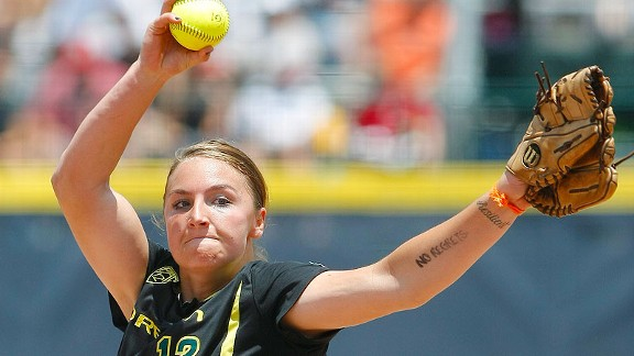 Going into her senior season, Jessica Moore is the Ducks' career leader in wins and strikeouts.