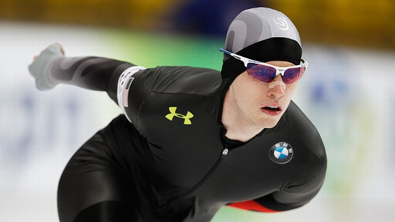 Patrick Meek, whose father and grandfather were speedskaters, is working to acheive his Olympic dream.