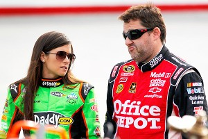 Boss and teammate Tony Stewart has been a good driver for Danica Patrick to emulate.