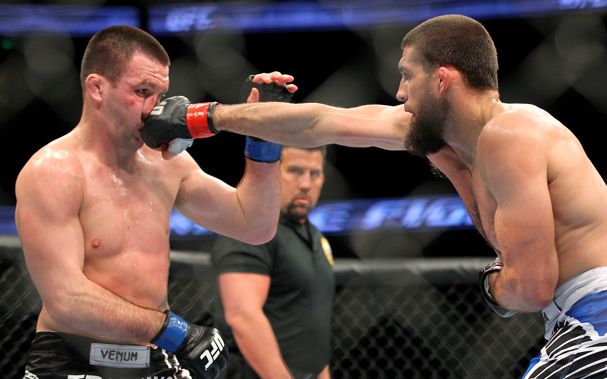 Court McGee and Josh Neer