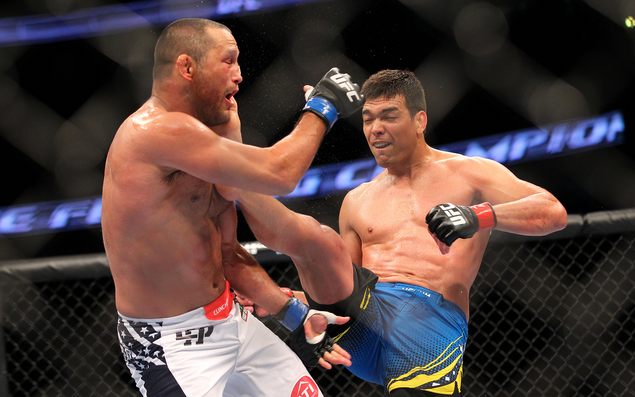 Lyoto Machida and Dan Henderson