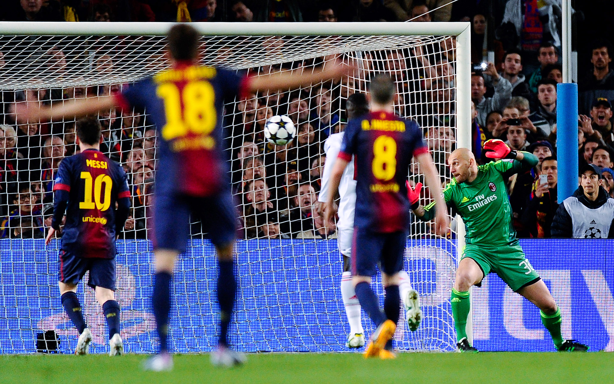 FC Barcelona Vs. AC Milan