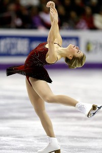 U.S. champion Ashley Wagner is fifth overall after Thursday's short program at the worlds.