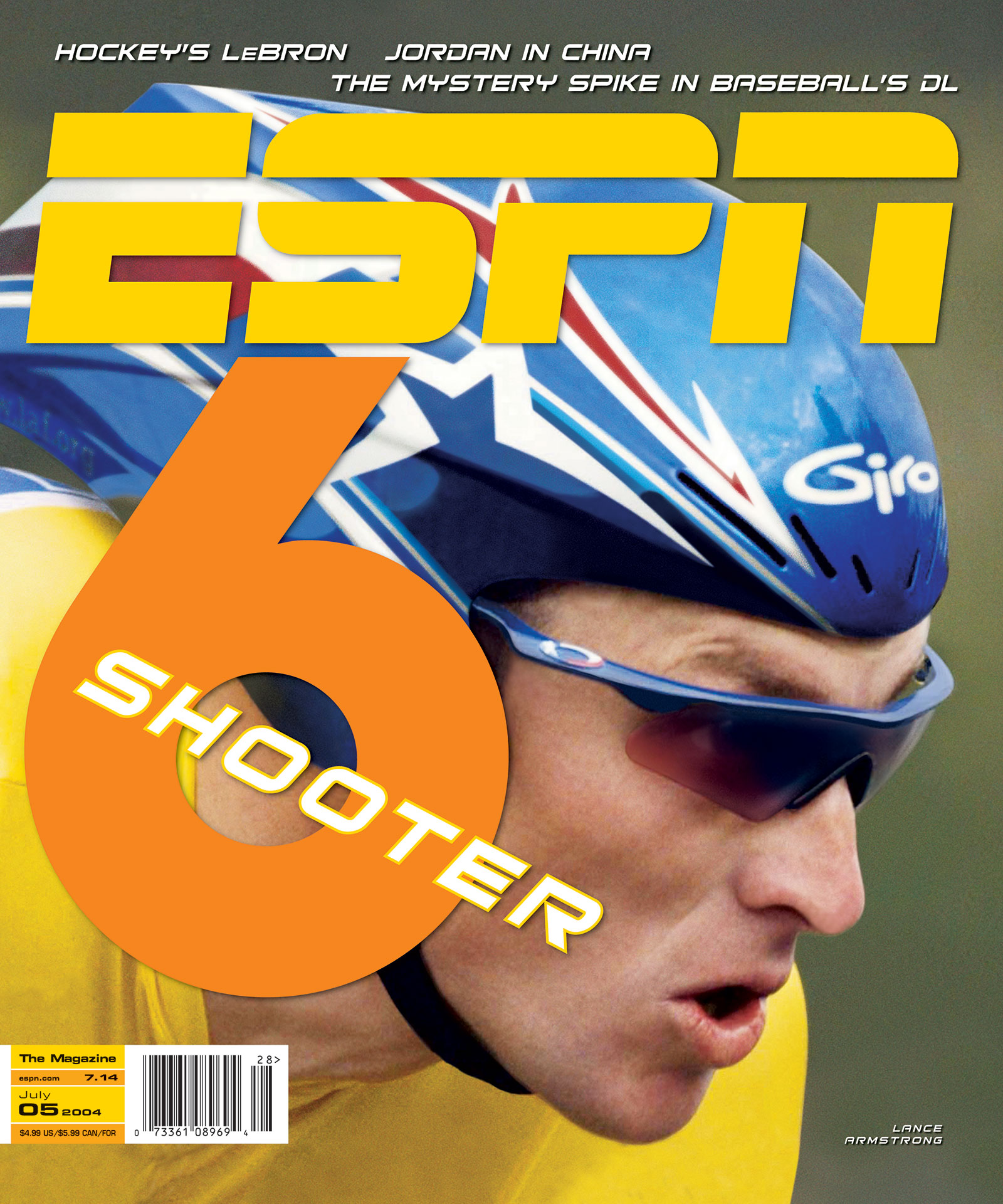 ESPN The Magazine 2004 Covers