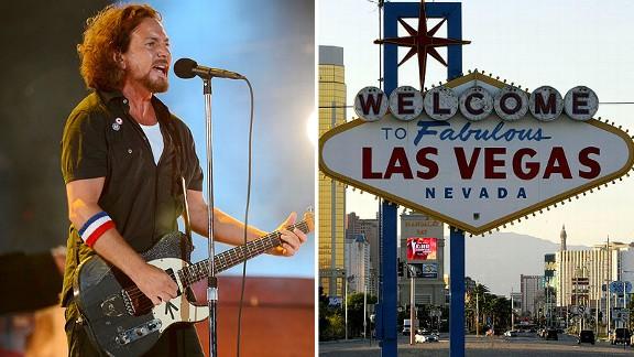 Eddy Vedder, Las Vegas Sign