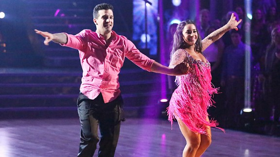 Aly Raisman has taken a break from gymnastics to concentrate on her training for DWTS, which is a full-time job.